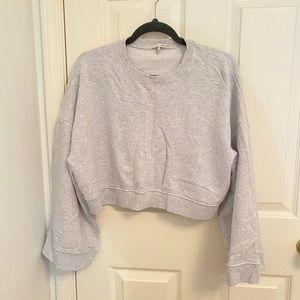 Oak and Fort - wide sleeves crop sweater